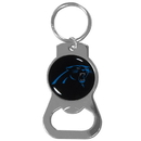 Siskiyou Buckle SFKB170 Carolina Panthers Bottle Opener Key Chain
