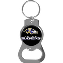 Siskiyou Buckle SFKB180 Baltimore Ravens Bottle Opener Key Chain