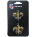 Siskiyou Buckle SFML150 New Orleans Saints Metal Magnet Set