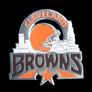 Siskiyou Buckle SFP025C Cleveland Browns Glossy Team Pin