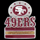 Siskiyou Buckle SFP076 San Francisco 49ers Team Pin