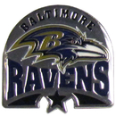 Siskiyou Buckle SFP180C Baltimore Ravens Glossy Team Pin