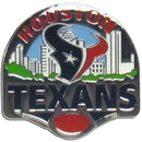 Siskiyou Buckle SFP190C Houston Texans Glossy Team Pin