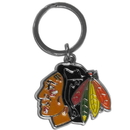 Siskiyou Buckle SHCK10 Chicago Blackhawks? Enameled Key Chain