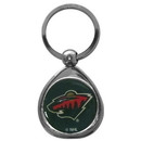 Siskiyou Buckle SHK145C Minnesota Wild? Chrome Key Chain
