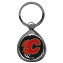 Siskiyou Buckle SHK60C Calgary Flames? Chrome Key Chain