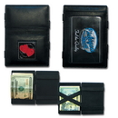 Siskiyou Buckle JL-WALLET-DOUBLE HEART Leather-Wallet JL, SJL23