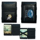 Siskiyou Buckle JL-WALLET-HOWLING WOLF Leather-Wallet JL, SJL25