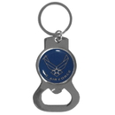 Siskiyou Buckle Air Force Bottle Opener Key Chain, SKB18C
