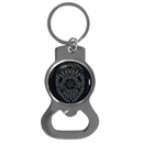 Siskiyou Buckle Police Bottle Opener Key Chain, SKB51C