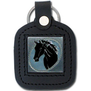 Siskiyou Buckle SLS26 Sq. Leather Keychain - - Horse