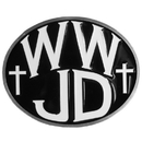 Siskiyou Buckle STH100B2 WWJD Hitch Cover