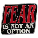 Siskiyou Buckle Fear is Not an Option Hitch Cover, STH21B2
