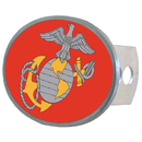 Siskiyou Buckle STHO19 Marines Oval Hitch Cover