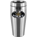 Siskiyou Buckle Police Steel Travel Mug, STMS51