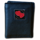 Siskiyou Buckle STR23 Tri-fold Wallet - Double Heart