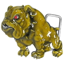 Siskiyou Buckle T8E Bulldog 3D Enameled Belt Buckle