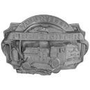 Siskiyou Buckle Volunteer Firefighter Antiqued Buckle, V85