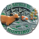 Siskiyou Buckle WHC705 Rather Be Hunting Hitch Cover