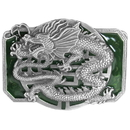 Siskiyou Buckle X85E Oriental Dragon - Enameled Belt Buckle
