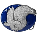 Siskiyou Buckle X89E Double Eagle - Enameled Belt Buckle