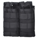 Tactical Magazine Pouch, M4 M16 AR-15 Type Molle Mag Pouch, Double or Triple Airsoft Open-Top Mag Holder