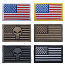 American Flag Patch US Army Military Flag Sew on Patches Embroidered Uniform Emblem