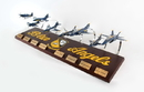 Executive Series Blue Angels Collection 1/72 8 Plane Set