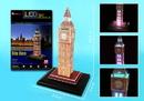 Daron CFL501H Big Ben 3D Puzzle With Base & Lights 28 Pieces