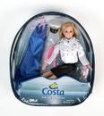 Daron DA8792 Costa Captain Doll In Backpack
