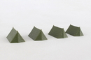 Herpa HE745826 Military Assembly Kit Tents (7 Pieces) 1/87