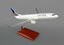 Executive Series United 737-800 1/100 Post Continental Merger