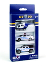 Daron NY86221 Nypd 3 Piece Vehicle Set