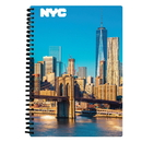 Daron PD18293 New York City Brooklyn Bridge 3D Notebook 80 Pages