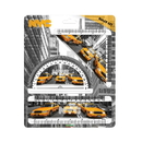 Daron PD18634 Nyc Taxi Ruler Set