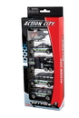 Daron RT38872P Police Dept. 5 Piece Vehicle Gift Pack
