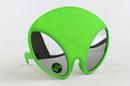 Sun-Staches SG3288 Green Alien Mirror Lens Glow In The Dark