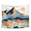 Muka Wall Hanging Tapestries Mountains Sunset Tapestry for Bedroom, Dorm, Home Decor