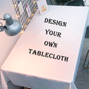 Muka Design Your Own Table Cloth Custom Table Cover Personalized Tablecloth