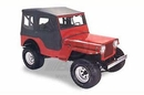 Bestop BST51404-01 Tigertop with Clear Windows and One-Piece Doors