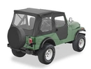 Bestop BST51407-01 Tigertop with Clear Windows and One-Piece Doors