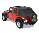 Bestop BST56805-35 Trektop with Tinted Windows and without Doors