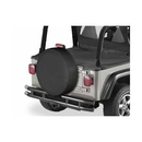 Bestop BST61033-15 33 inch Spare Tire Cover in Black Denim