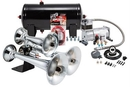 Kleinn Automotive K-AHK6 Complete triple train horn package with 150 psi sealed air system