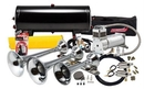 Kleinn Automotive K-AHK8 Complete triple train horn package w/150 psi 100% duty sealed air & BlastMaster Upgrade
