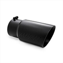 MBRP Exhaust MBRT5074BLK Dual Walled Angled Exhaust Tip