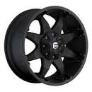 MHT Luxury Alloys MHTD5097852645 D509 Octane, 17x8.5 with 5 on 4.5 Bolt Pattern - Black