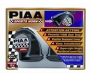 PIAA PIA85110 Sports Horn Bass Tone Kit 400Hz + 500Hz, 115Db
