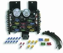Painless Wiring Products PWP30001 12 Circuit Compact Universal Fuse Block