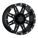 Pro Comp PXA7031-7982 Series 7031, 17x9 with 8 on 6.5 Bolt Pattern - Flat Black